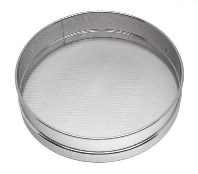 "Stainless Steel Flour Sieve - 13"""