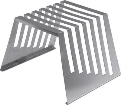 "Stainless Steel Rack for 6 Cutting Boards - 0.5"" Thick"